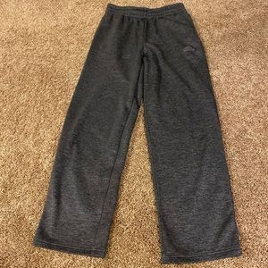 Adidas men's joggers, size small, gray like new
